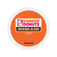 Dunkin Donuts Original Coffee, 24 Count K-Cups for Keurig K-Cup Brewers - FRESH!