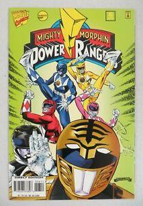 Mighty Morphin Power Rangers #5 (1995) VF/NM White Ranger Marvel Comics Saban