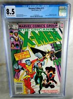 Uncanny X-Men #171 NEWSSTAND Rogue - Marvel 1983 CGC 8.5 VF+ OW/WP - Comic I0096