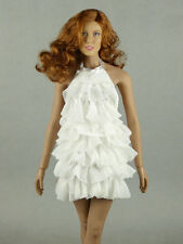 1/6 Phicen, Hot Toys, Cy, Kumik, VG - White Color Neck Strap Layered Party Dress