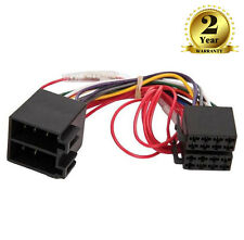 CT20CT10 Car Stereo ISO Wiring Harness Adaptor For Citroen Berlingo C2 C3 C5 C8