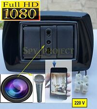 Spy Camera Cam Spia WIFI FULL HD Telecamera Nascosta Sorveglianza Vimar bTicino