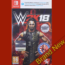 WWE 2k18 Nintendo Switch Game 16 Years