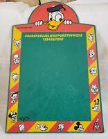 Vintage Donald Duck Chalkboard Walt Disney Productions 1960s