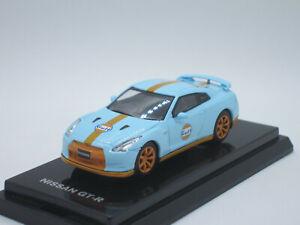 Nissan Skyline GT-R R35 GULF painting Racing 2015 1/64 Diecast