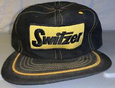 Vintage Switzer Swingster SnapBack Hat Cap  Patch USA