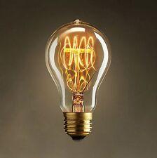 40W Lampadina Vintage Antico Retrò Industriale filamento luce vecchio stile E27 a vite