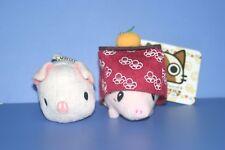 Monster Hunter Pig Pugi Mascot Plush doll Keychain Set  Capcom Japan