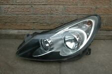 1 x VAUXHALL CORSA PASSENGER SIDE FRONT HEAD LAMP (BLACK)