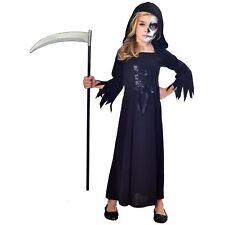 Amscan Enfant 7-8 Ans Faucheur Fille Déguisement Halloween Costume Enfant
