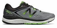 New Balance Male Men's 860V8 Mens Running Shoes Grey With Green & Black
