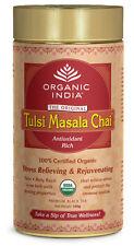 2 Packs of Organic India Tulsi Masala Chai Tea 100g Antioxidant Rich
