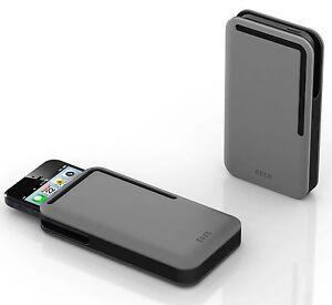 DOSH - SYNCRO Alloy compact men's designer iPhone 5/5S wallet / case / sleeve