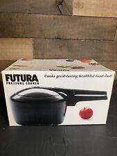 NEW Futura 3 liter Pressure Cooker F40 Hawkins Hard Anodized Black HEALTHY FOOD
