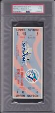 1989 Toronto BLUE JAYS First Game at SKYDOME FULL Ticket PSA 6 ex/mt - TOUGH!