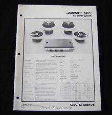 bose vintage electronics manuals for sale ebay rh ebay com Nissan Bose Car Stereo Systems Nissan Bose Car Stereo