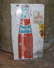 Fanta Tin Sign 140 cm x 65 cm Vintage Cafe Shop Store Milk Bar Workshop Garage