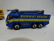 @@ Matchbox AIRPORT FIRE TRUCK runway rescue 1  @@