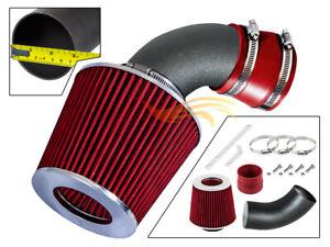 RW RED Short Ram Intake Kit+Filter 1991-1997 Chevy Geo Metro 1.0L 1.3L