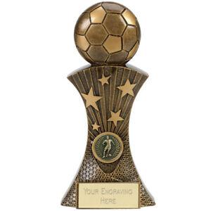 FIESTA FOOTBALL TROPHY PERSONALISED PLAYER/MATCH AWARD *FREE ENGRAVING*