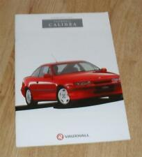 Vauxhall & Opel Calibra 1990 Car Sales Brochures 2009