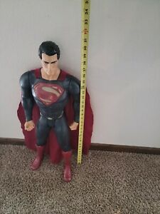 DC Universe Man of Steel Superman Action Figure w/ Cape 30 Inches Tall DC Comics