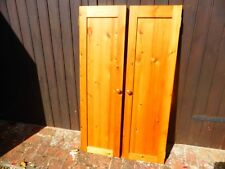 Pine cupboard doors