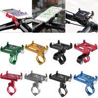 GUB Universal Aluminum Bike Bicycle Handlebar Cell Phone Holder Bracket Mount