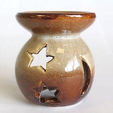 Brule parfum / huile essentielle rustique étoile h 8cm diametre 5cm  n=6