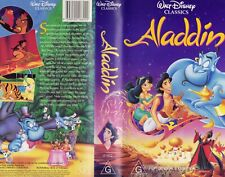 Walt Disney Classics Aladdin VHS Tape