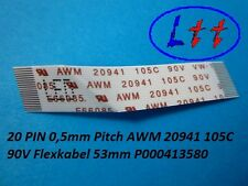 20 pin 0,5mm pitch AWM 20941 105c 90v, cable flex 53mm p000413580