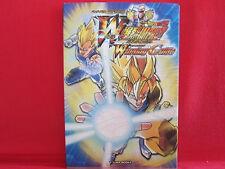 Dragon Ball Z W Bakuretsu Impact winning Guide Book / Trading card game