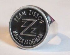 Solid Sterling Silver 925 Life Aquatic Team Zissou Master Frogman Ring