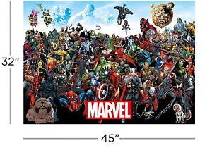 Aquarius Marvel Comics Universe 3,000-Piece Puzzle