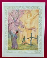 Stunning Large Original 1912 Joan of Arc French print Lithograph  Titled: