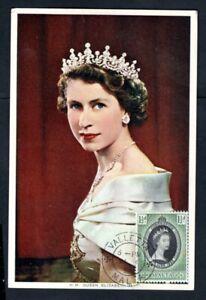 Malta - 1953 QE2 Coronation Postcard