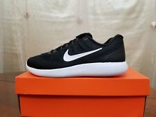 NIKE LUNARGLIDE 8 RUNNING SHOES BLACK MENS SIZE 8.5 NEW AA8676-001