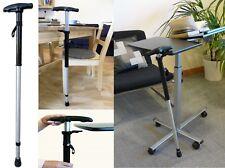Walking Stick Cane Adjustable Height Self Standing Spring Anti Slip Lightweight