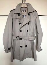 Trench Burberry uomo impermeabile men soprabito coat beige S waterproof overcoat