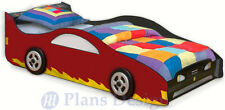 Children's Sport Car Twin Bed Woodworking Plans (Instructions), Do It Yourself