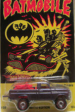 "Hot Wheels CUSTOM TEXAS DRIVE 'EM ""BATMOBILE"" Real Riders Limited 1/25 Made!"