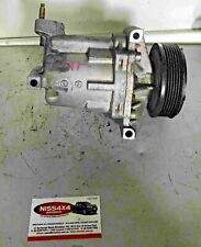 NISSAN TIIDA C11 A/C COMPRESSOR P/N 92600 CJ60A GENUINE USED 2004 - 2012