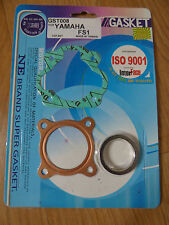 Yamaha FS1 Drum FS1E DX Disc FS1-SE Top End Engine Gasket Repair Rebuild Kit Set