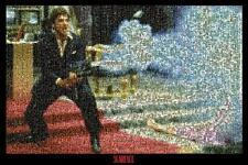 Scarface: mosaico-Maxi Póster de 91.5cm X 61cm Nuevo y Sellado