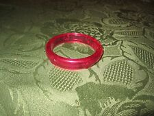 Vintage Little Fisher Price pretty purse vanity make up jewelry bracelet red toy