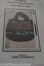 Cascade Yarns Crocheted Felted Bag Knitting Pattern  1.5