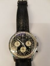 Rare men's Breitling Cosmonaute 809 chronograph watch WOW