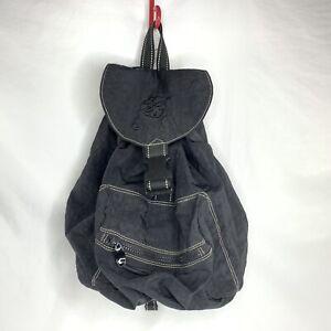 Gaiam Yoga Bag Black Backpack Mat Carrier Zipper And Buckle Pockets