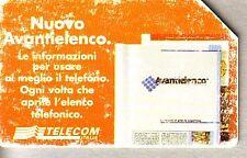 Telefonkarte Italien starke Gebrauchsspuren (intern: 2267 )
