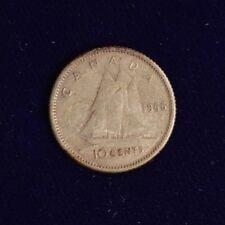 Canada 1956 10 CENT  - Nice Coin Book filler ~ average circulated